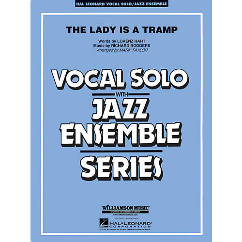 Hal Leonard The Lady Is A Tramp - Vocal Solo Jazz Ensemble Series Level 4