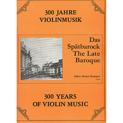 Editio Musica Budapest The Late Baroque EMB Series Composed by Various