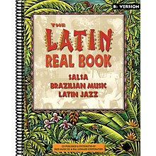 Hal Leonard The Latin Real Book - E-flat Edition Fake Book Series