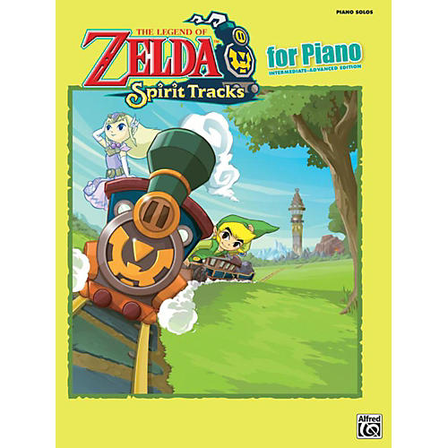 Alfred The Legend of Zelda Spirit Tracks for Piano Solos Book