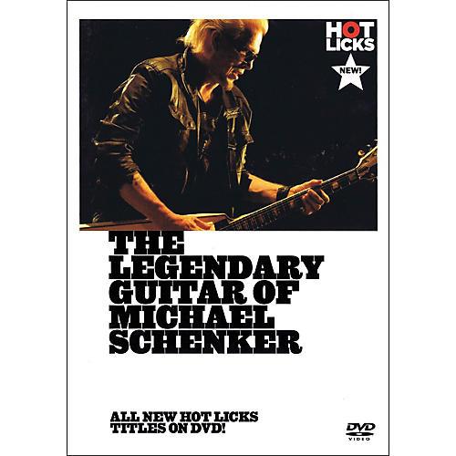 Music Sales The Legendary Guitar Of Michael Schenker - Instructional Guitar DVD