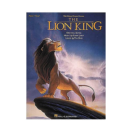 Hal Leonard The Lion King Piano, Vocal, Guitar Songbook
