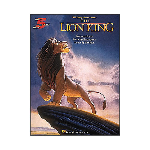 Hal Leonard The Lion King for Five Finger Piano