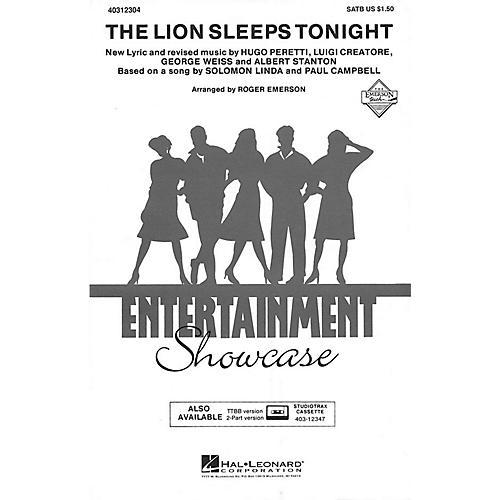 Hal Leonard The Lion Sleeps Tonight ShowTrax CD Arranged by Roger Emerson