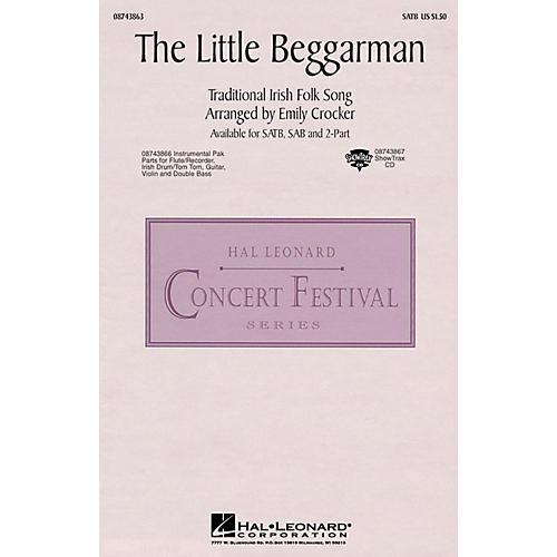 Hal Leonard The Little Beggarman SATB arranged by Emily Crocker