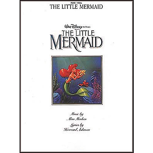 Hal Leonard The Little Mermaid Piano, Vocal, Guitar Songbook