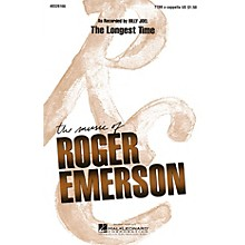 Hal Leonard The Longest Time TTBB A Cappella by Billy Joel arranged by Roger Emerson