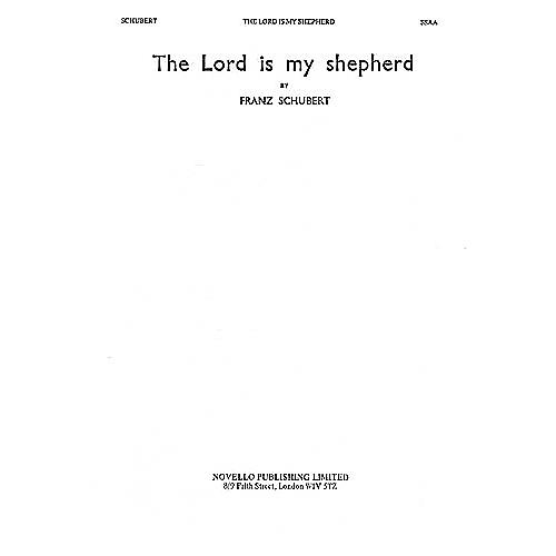 Novello The Lord Is My Shepherd SSAA Composed by Franz Schubert