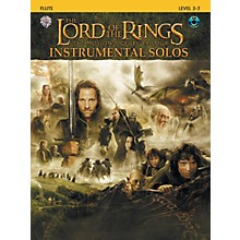 Alfred The Lord of the Rings Instrumental Solos Flute Book & CD