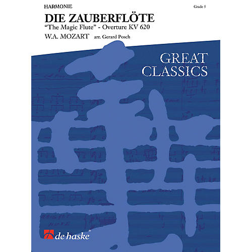 De Haske Music The Magic Flute (Score Only) Concert Band Arranged by Gerard Posch