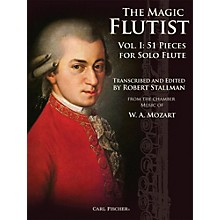 Carl Fischer The Magic Flutist Vol. 1: 51 Pieces for Solo Flute Book