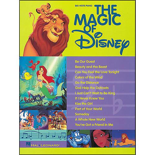 Hal Leonard The Magic Of Disney for Big Note Piano