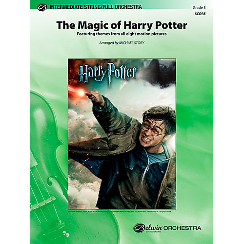 Alfred The Magic of Harry Potter Full Orchestra Grade 3 Set
