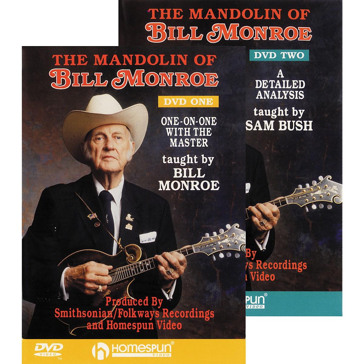 Homespun The Mandolin of Bill Monroe (DVD Set)