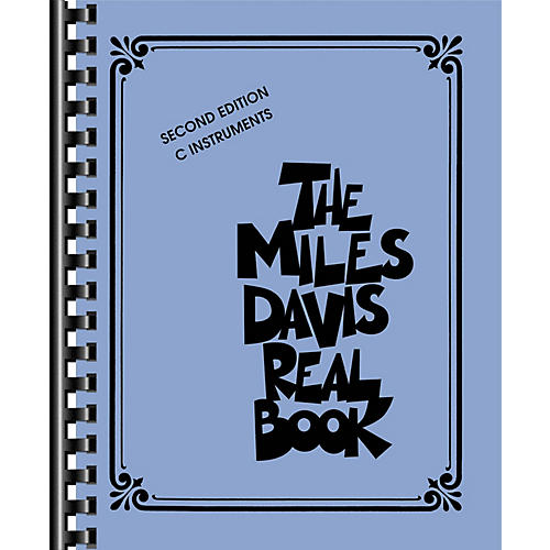 Hal Leonard The Miles Davis Real Book - Second Edition (C Instruments) Fake Book