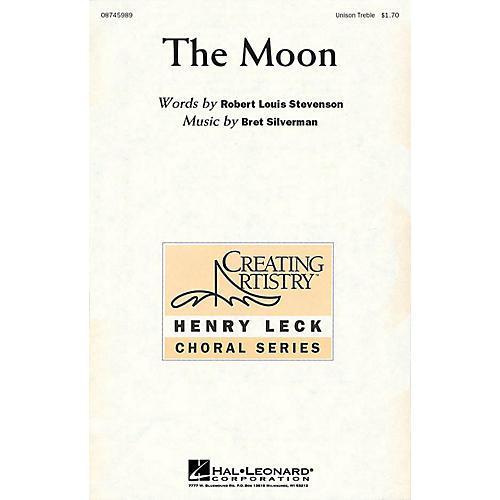 Hal Leonard The Moon Unison Treble composed by Bret Silverman