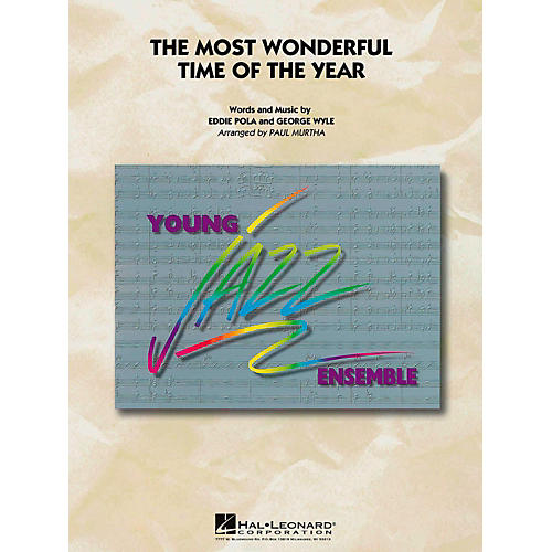 Hal Leonard The Most Wonderful Time Of The Year Jazz Band Level 3