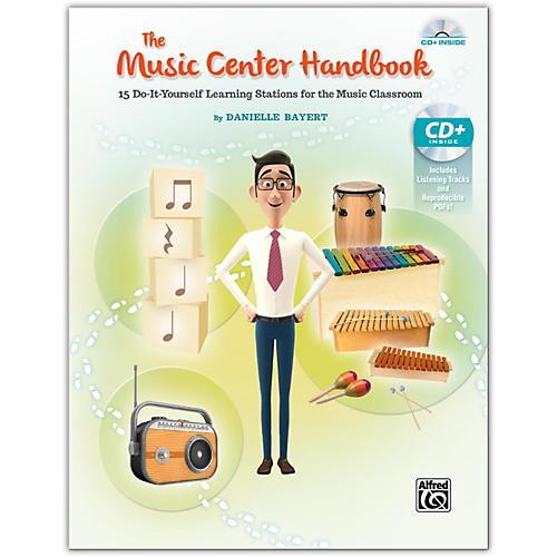 Alfred The Music Center Handbook Book & Data CD