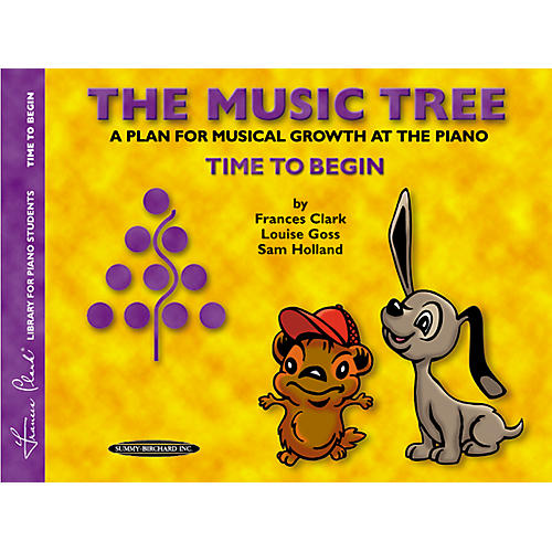 Alfred The Music Tree Student's Book Time to Begin