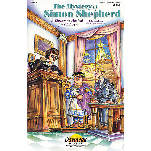 Daybreak Music The Mystery of Simon Shepherd (Preview CD) PREV CD Composed by Roger Emerson