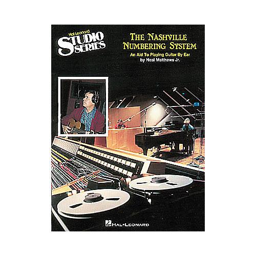 Hal Leonard The Nashville Numbering System Easy Guitar Book