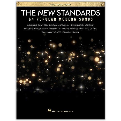 Hal Leonard The New American Songbook - 64 Popular Modern Songs Piano/Vocal/Guitar Songbook