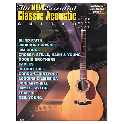 Alfred The New Essential Classical Acoustic Guitar Book