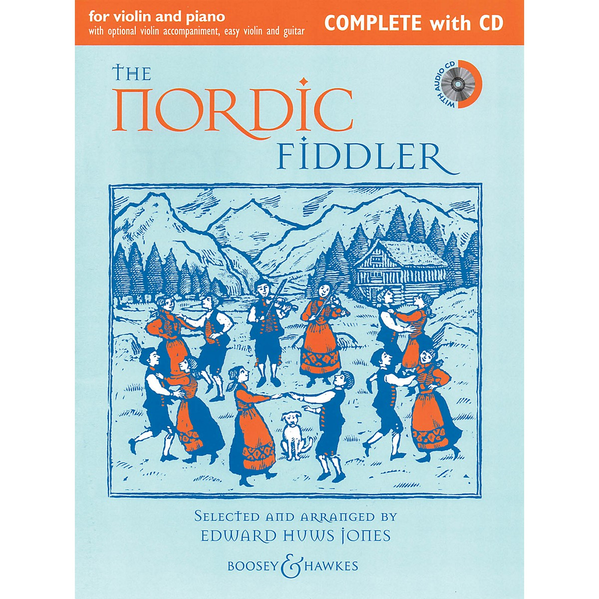 Boosey and Hawkes The Nordic Fiddler (Complete Edition with CD) Boosey & Hawkes Chamber Music Series Softcover with CD