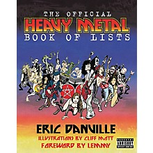 Hal Leonard The Official Heavy Metal Book of Lists
