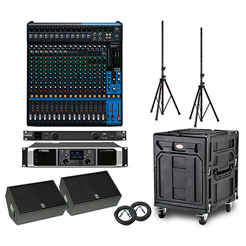 Yamaha The Opener Package - Field PA System with Analog Mixer
