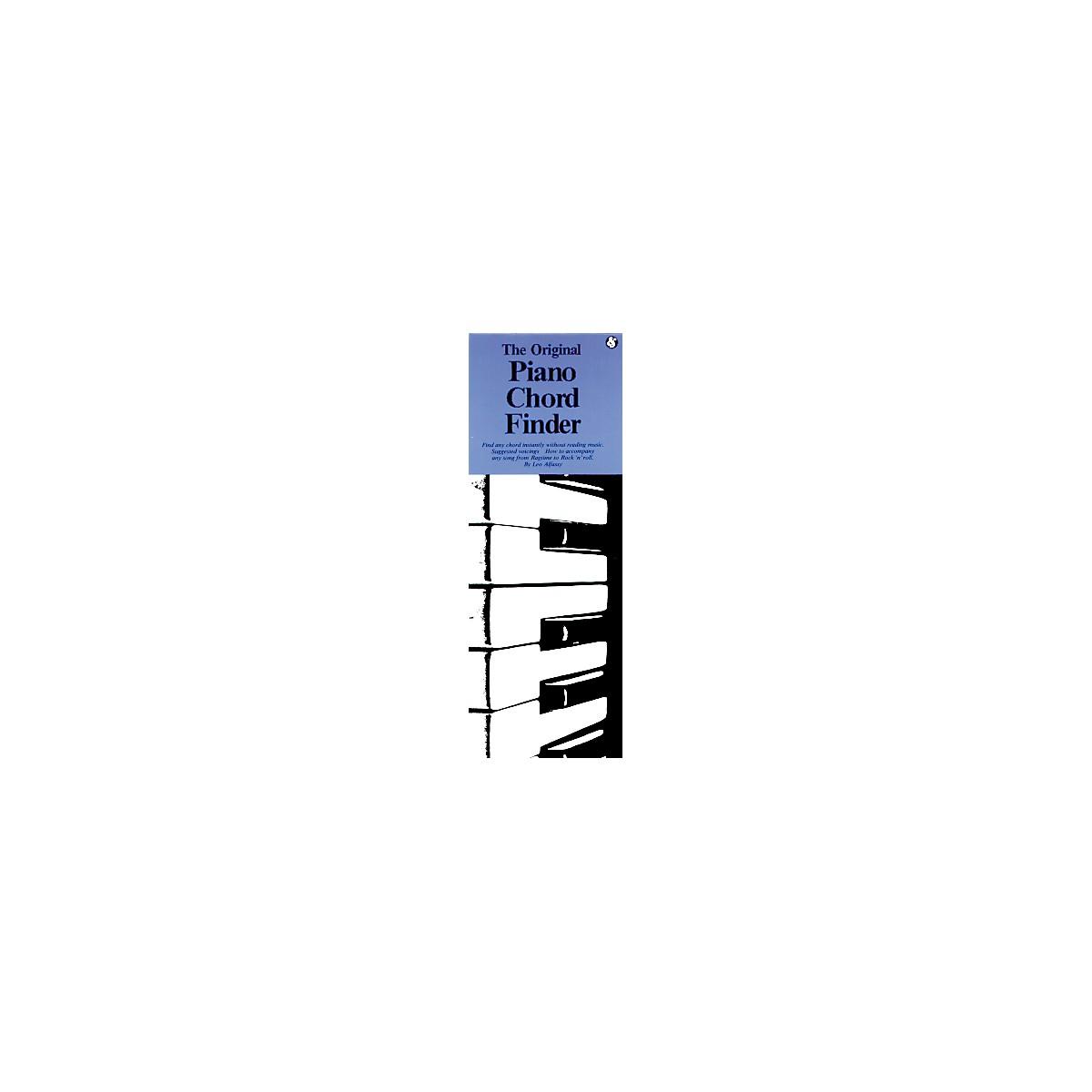 Music Sales The Original Piano Chord Finder (Book)
