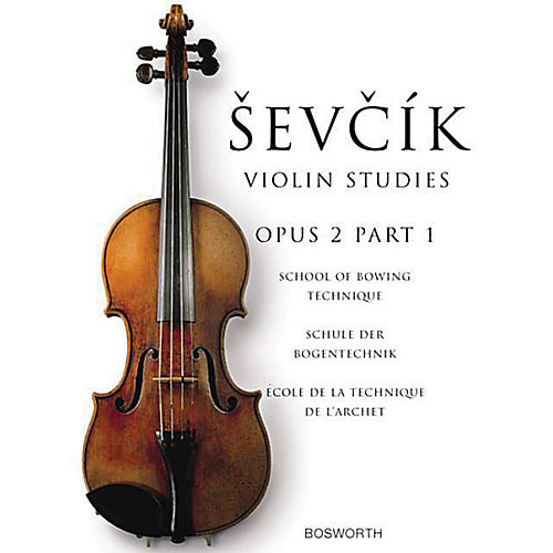 Music Sales The Original Sevcik Violin Studies: School of Bowing Technique Part 1 Music Sales America Series