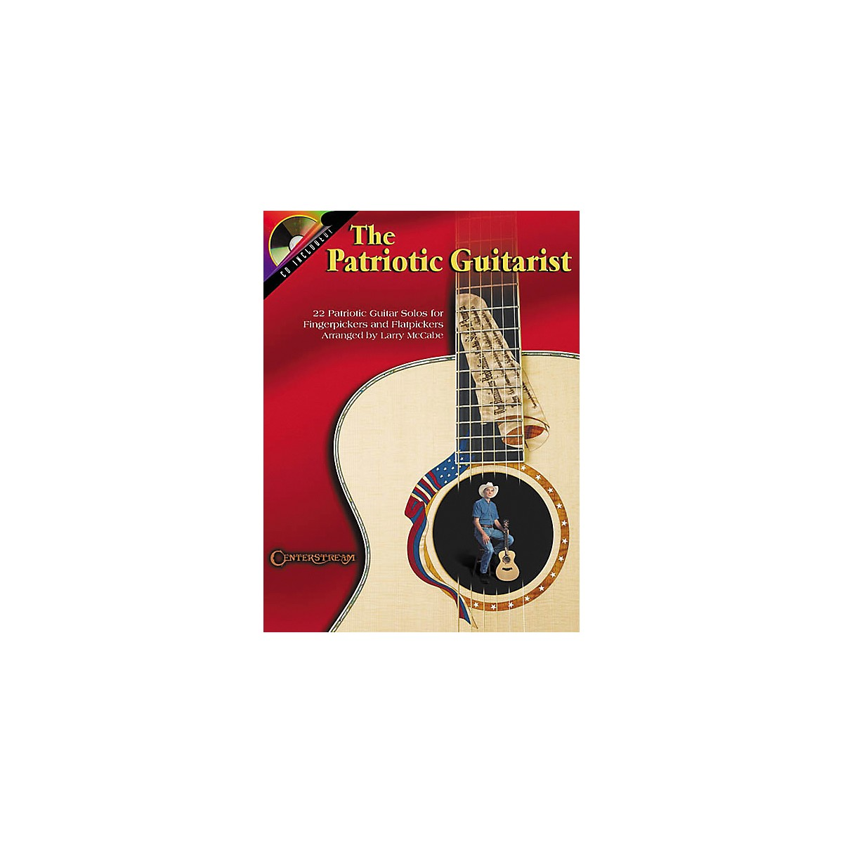 Centerstream Publishing The Patriotic Guitarist (Book/CD)