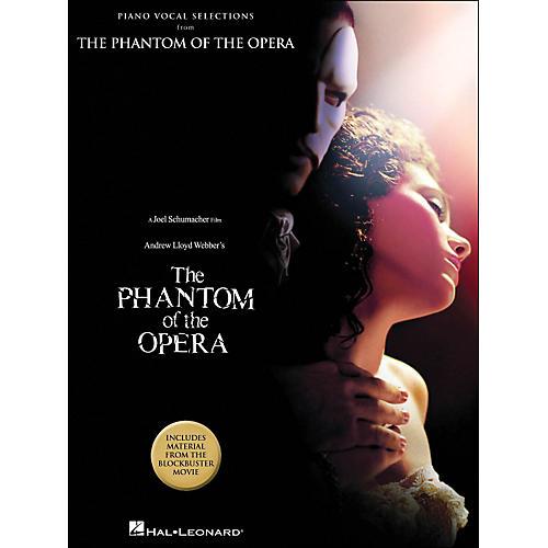 Hal Leonard The Phantom Of The Opera Piano Vocal Selections Blockbuster Movie arranged for piano, vocal, and guitar (P/V/G)