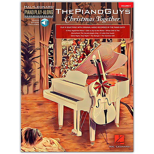 Hal Leonard The Piano Guys-Christmas Together Piano Play-Along Volume 9 Book/Audio Online