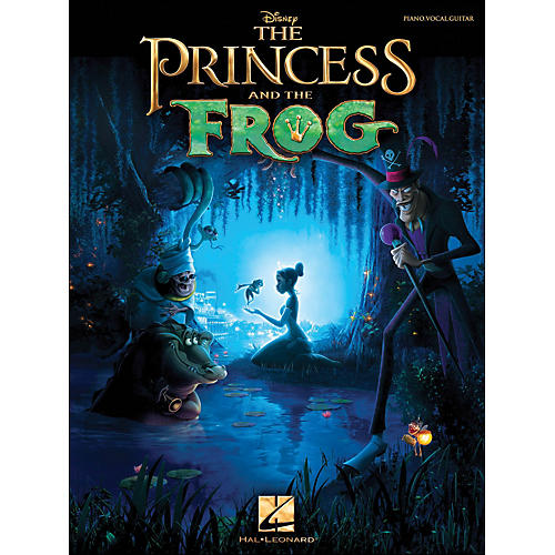 Hal Leonard The Princess And The Frog arranged for piano, vocal, and guitar (P/V/G)