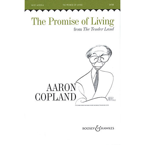 Boosey and Hawkes The Promise of Living (SATBB and Piano, 4 Hands) SATBB composed by Aaron Copland