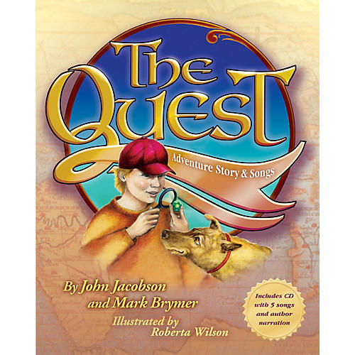 Hal Leonard The Quest (Adventure Story and Songs) Performance Kit with CD Composed by John Jacobson