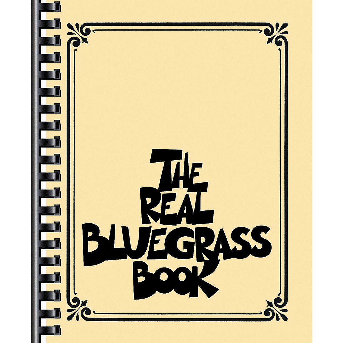 Hal Leonard The Real Bluegrass Book - Fake Book