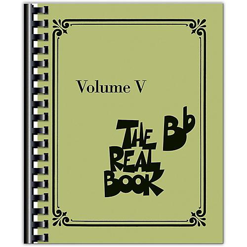 Hal Leonard The Real Book - Volume 5 (B Flat Edition)