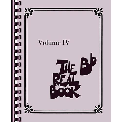 Hal Leonard The Real Book - Volume IV (B-Flat Edition)