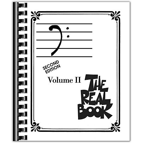 Hal Leonard The Real Book Volume 2 - C Edition Bass Clef Edition
