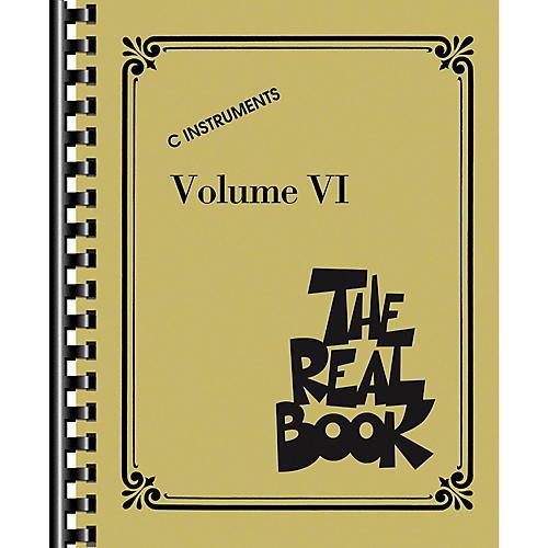 Hal Leonard The Real Book Volume 6 - C Edition