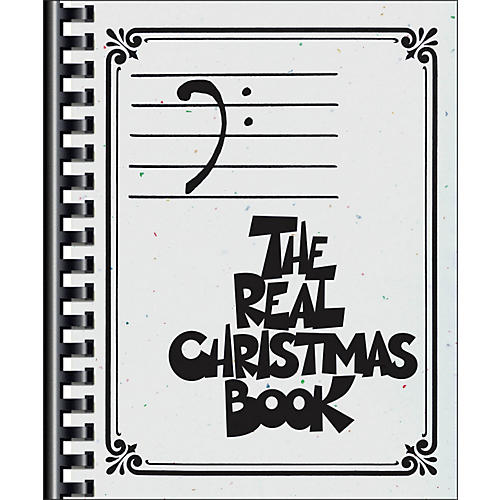 Hal Leonard The Real Christmas Book - Bass Clef Edition