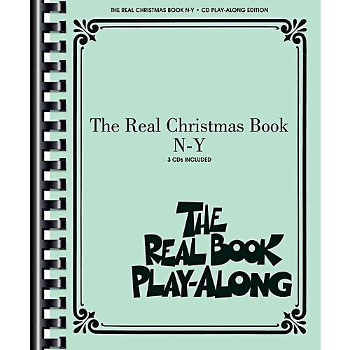 Hal Leonard The Real Christmas Book Play Along N-Y Book/3 CD Pack