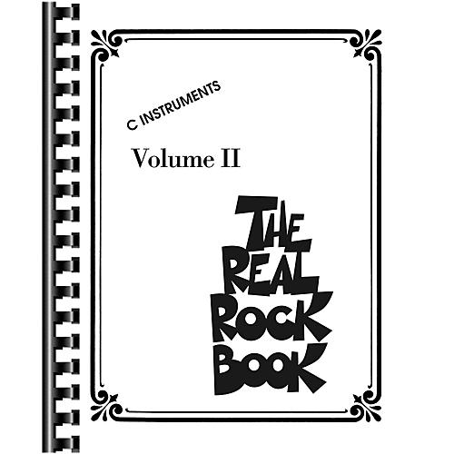 Hal Leonard The Real Rock Book Volume 2 Fake Book for C Instruments