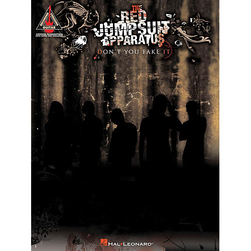 Hal Leonard The Red Jumpsuit Apparatus - Don't You Fake It Guitar Tab Songbook