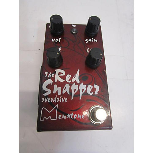 Menatone The Red Snapper Overdrive Effect Pedal