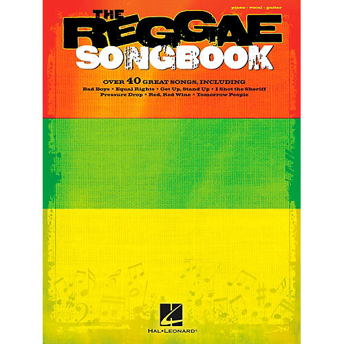 Hal Leonard The Reggae Songbook for Piano/Vocal/Vocal PVG