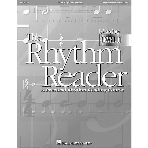 Hal Leonard The Rhythm Reader II - A Practical Rhythm Reading Course Reproducible Pak